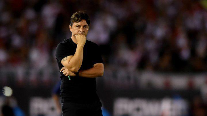 Conductor. Marcelo Gallardo dijo que el gran objetivo es la Copa Libertadores.