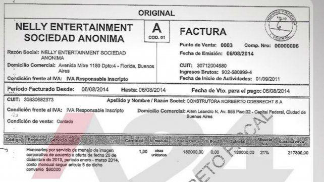 Las facturas que muestran el vínculo entre Jorge Corcho Rodríguez y Odebrecht