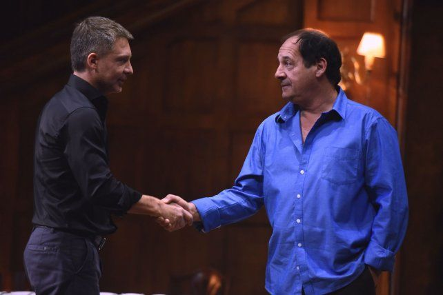 Extraña pareja. Suar y Chávez interpretan a dos hermanos muy distintos en Un rato con él.