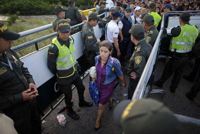 Crisis humanitaria. A medida que la economía venezolana empeora