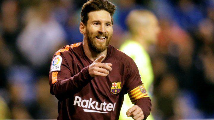 El mejor. Leo es el goleador de la liga. Marcó 32 goles en 34 fechas