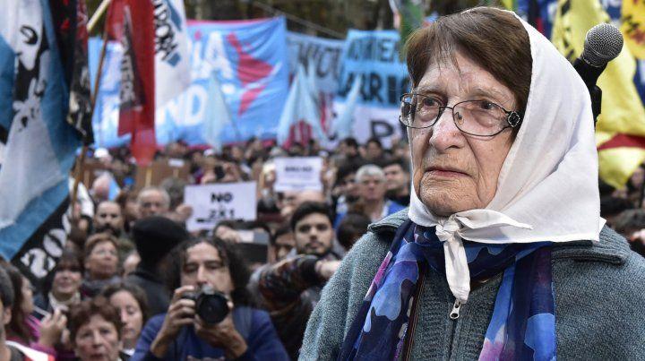 Murió Norma Vermeulen, una histórica de las Madres de la Plaza 25 de Mayo