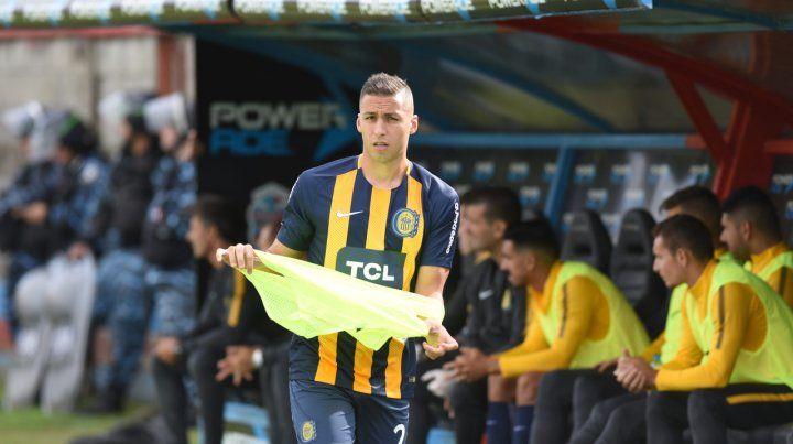 Tobio ingresó en el complemento ante Arsenal pero sólo estuvo 23 minutos en cancha.