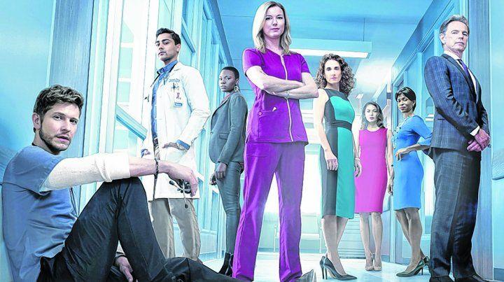 idealistas vs Corruptos. La serie se centra en un médico residente que se enfrenta a cirujanos sin escrúpulos.