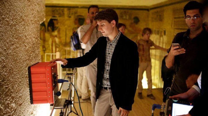 Confirmaron que no hay salones ocultos en la tumba de Tutankamón