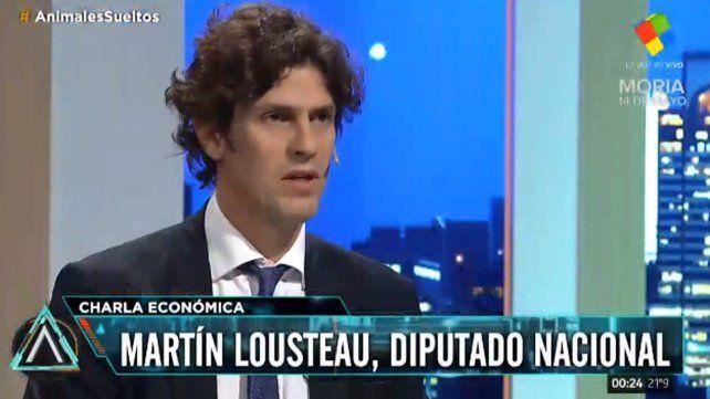Lousteau: Cada vez que hay una crisis aumenta la desigualdad