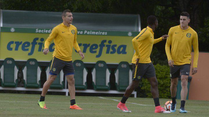 Central hizo una práctica liviana en el predio de Palmeiras
