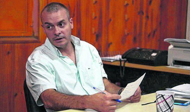 bajo la lupa. Alejandro Druetta al asumir en Venado Tuerto detuvo a Carlos Ascaíni en un oscuro procedimiento.