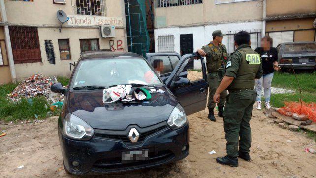 Gendarmería detuvo a un hombre con cocaína y varias dosis de LSD