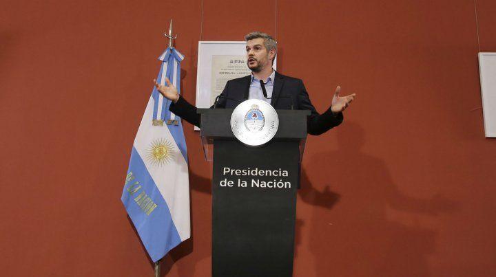 El jefe de Gabinete explicó la razones por las que el gobierno recurrió al FMI.