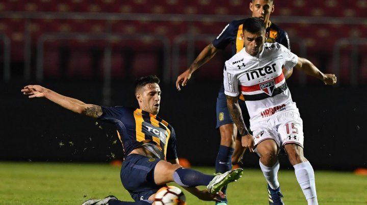 Da Campo intercepta el ataque de Liziero