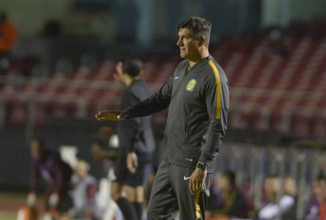 Derrotado. Chamot señaló que el equipo estuvo a la altura en el Morumbí ante San Pablo.