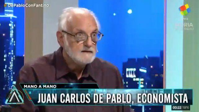 Con el Fondo no se jode, hay que pagar el préstamo, dijo De Pablo