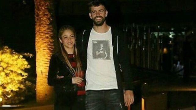 Shakira y Piqué desmintieron rumores de separación con una cena romántica