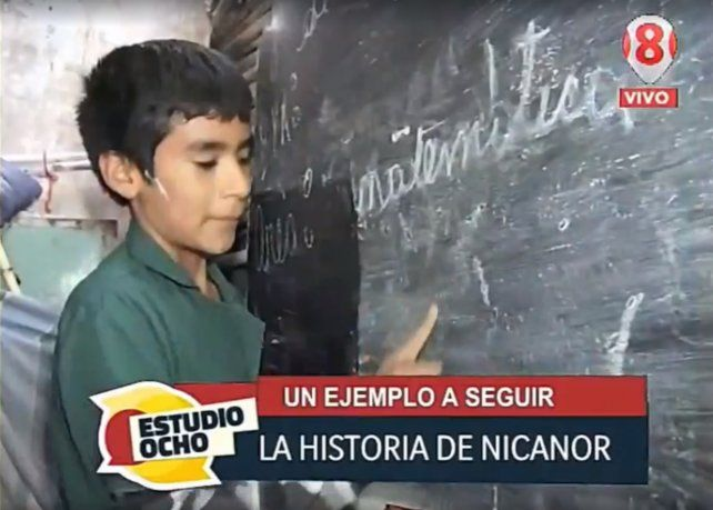 Un chico de 12 años fundó una escuela en el fondo de su casa