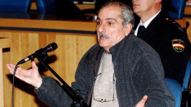 Alfredo Scilingo. El represor reconoció en España sus crímenes.