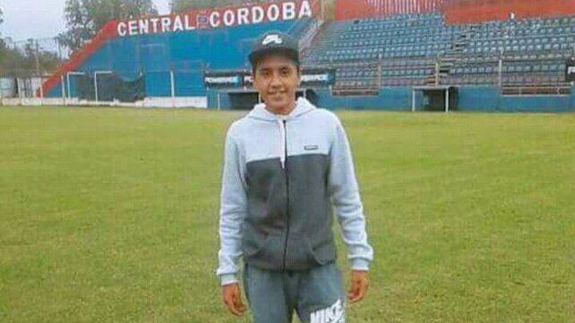 Apasionado. Agustín quiere ser jugador de fútbol