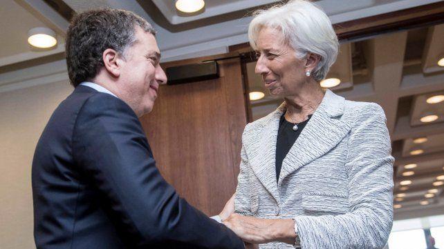La jefa. Dujovne con Lagarde
