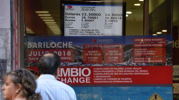 Pese a la fuerte intervención del Banco Central
