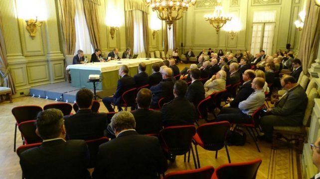 Unánime. La asamblea extraordinaria de la BCR aprobó su participación.