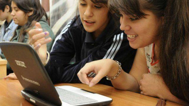 A través del Programa Conectar Igualdad se entregaron más de cinco millones y medio de netbooks.