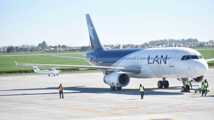 Modificaciones. El sector tiene 69 mil metros cuadrados para que estacionen las aeronaves.