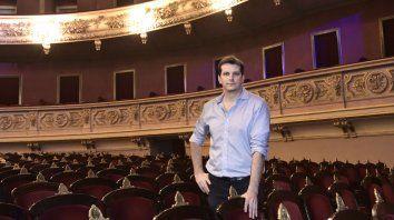 A puro teatro. Nicolás Boni, escenógrafo, en El Círculo, donde descubrió su pasión por la escenografía.