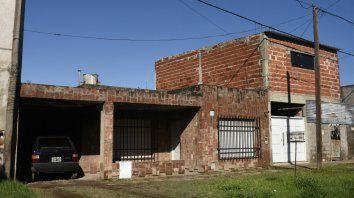 En empalme. La casa donde vivía Héctor Prieto, en Esquiú al 5500.