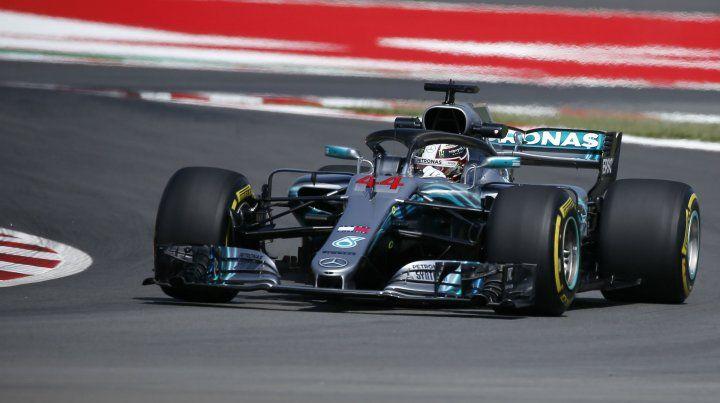 El campeón. Hamilton dominó en Barcelona.