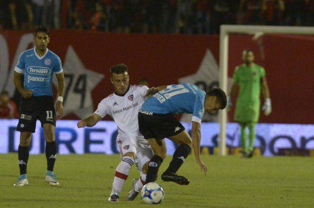 Aguerrido. Ribero había jugado ante Belgrano por la Superliga.