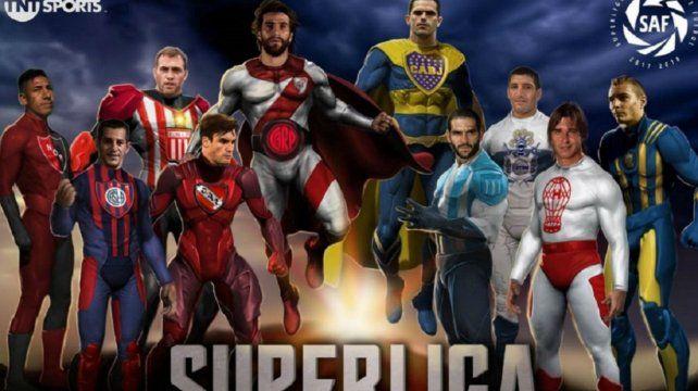 La Superliga hizo el reparto de la torta de la TV