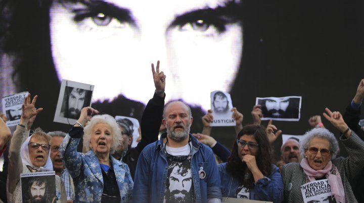 Marchas y reclamos a un año de la desaparición de Santiago Maldonado