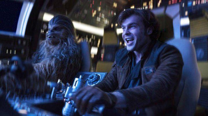 Amigos inseparables. Chewbacca y Lando Calrissian vuelven al ruedo.