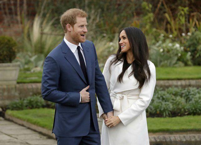 Felices los dos. Harry y Meghan se conocieron en julio de 2016. Casi dos años después