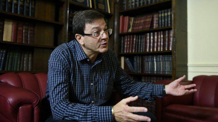 Candidato. Eduardo Ceccarelli quiere llegar al directorio del Conicet.