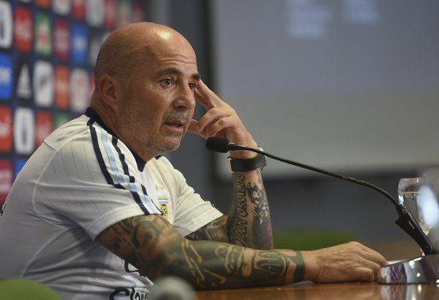 Sampaoli y la lista de 35 jugadores para el Mundial de Rusia