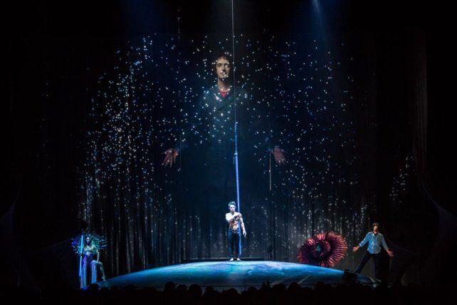 En Rosario. El show del Cirque du Soleil se presentará por primera vez en la ciudad.