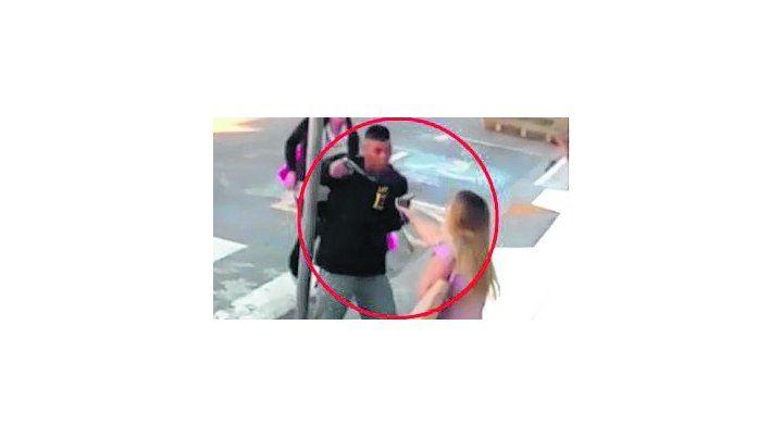 crimen. La policía dispara.