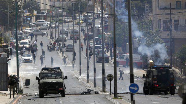 Al menos 37 palestinos muertos en protestas en la Franja de Gaza