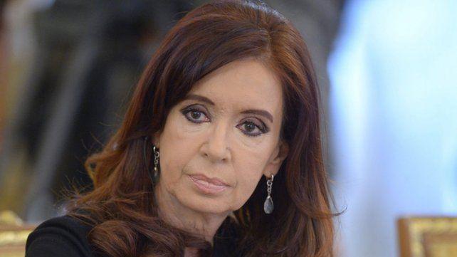Señalada. A Cristina la acusan por asociación ilícita y lavado de dinero.