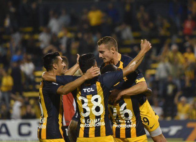 Todo Central festeja el gol de Marco Ruben