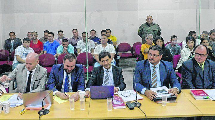 alegatos. Los defensores Nanni y Krupnik (izq.) pidieron ayer la absolución de su cliente