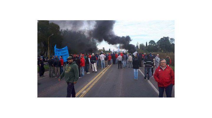 crítico. Los sindicalistas aseguran que los operarios están impacientes y temen que el conflicto empeore.