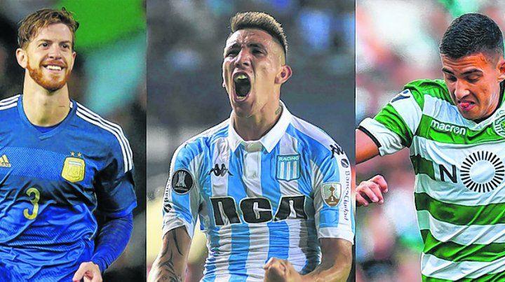 Tres nombres. El lateral Cristián Ansaldi resultó ser un tapado. Ricardo Centurión y Rodrigo Battaglia eran más posibles.