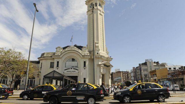 La parada de taxiste en la Terminal vuelve a estar en centro de la polémica.