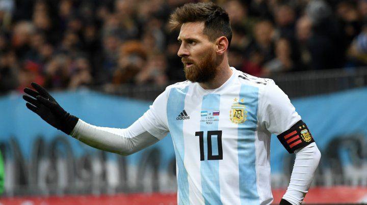 Messi dijo que hacer un buen Mundial sería estar entre los cuatro mejores