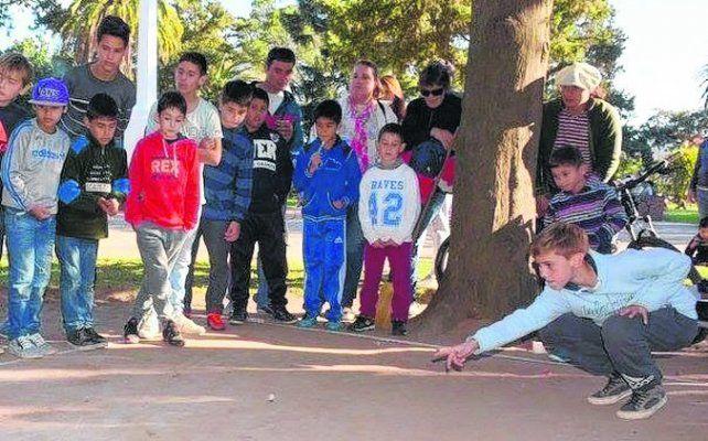 El gran estreno. El año pasado se jugó en San Jorge el primer torneo provincial.