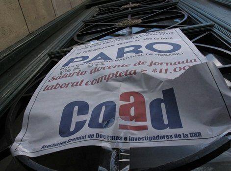 reclamo. Los profesores irán a una marcha en Buenos Aires.