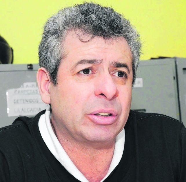 en prisión. Delfín Zacarías está preso desde septiembre de 2013.