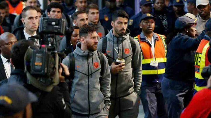 Messi y Suárez, mate y amistoso muy cerca del Mundial